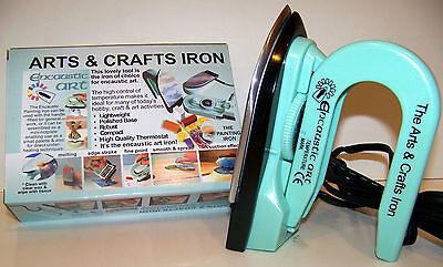 Encaustic Arts & Crafts Iron with Adjustable Temperature Dial Factory Second