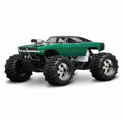 HPI 1969 Dodge Charger Clear Body (Savage/Maxx) (Unpainted) - 7184
