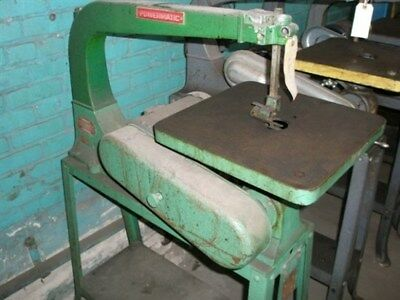 "Powermatic 24"" Woodworking Scroll Saw ""As-Is"""