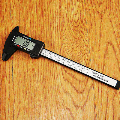 LCD Digital Electronic Vernier Caliper Gauge Micrometer Ruler Tool 150MM 6inch