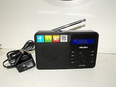"Bush Latitude Digital & Fm Radio In As New Condition ""Tested & Working"""