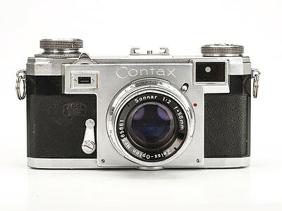 Contax IIa with Zeiss 50mm f/2 Sonnar
