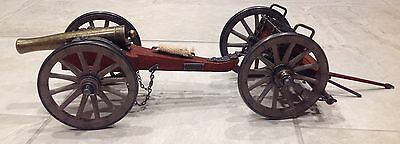 Dahlgren 1.861 Miniature Replica Civil War Cannon & Ammo Caisson Cart