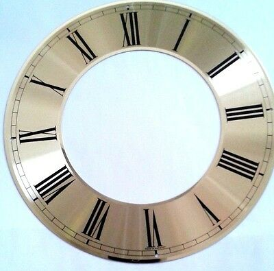 Hermle-kieninger  clock dial chapter ring 192 mm diameter solid brass
