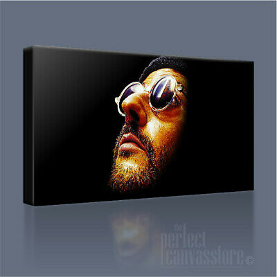 LEON THE PROFESSIONAL JEAN RENO ASSASSIN SUPERB ICONIC CANVAS PRINT Art Williams