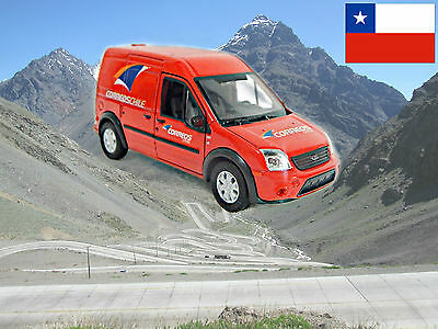 CHILE CORREOS POST MAIL Ford Transit approx. scale 1/43 - World Post cars