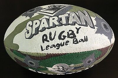 Spartan Rugby League Ball Camouflage Youth Size 3