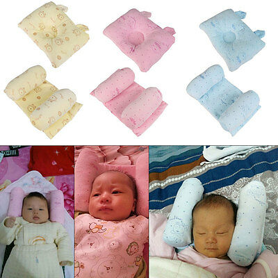 Newborn Baby Infant Head Support Cot Pillow Prevent Flat Head Sleep Positioner
