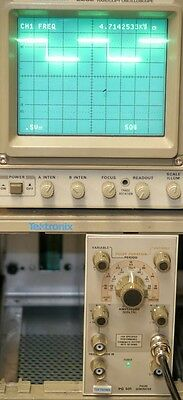 Tektronix Pg501 Pg 501 Pulse Generator Plug In