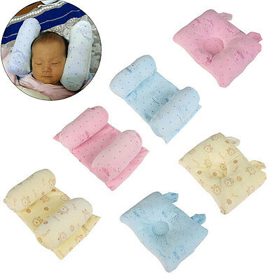 Soft Newborn Cot Bed Pillow Baby Head Support Prevent Flat Head Sleep Positioner