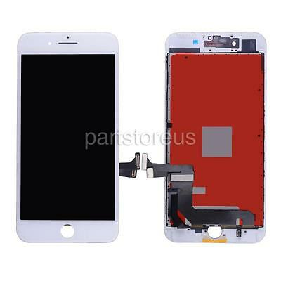 White LCD Display Touch Digitizer Screen + Frame Assembly for iPhone 7 Plus 5.5'
