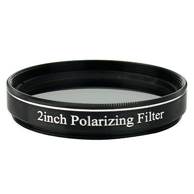 Hot 2inch Polarizing Filter No.3 for 50.8mm Astronomical Telescope Eyepiece+Case