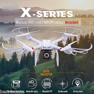 MJX X101 2.4GHz 6 Axis Gyro RC Quadcopter with 3D Roll Stumbling Function New