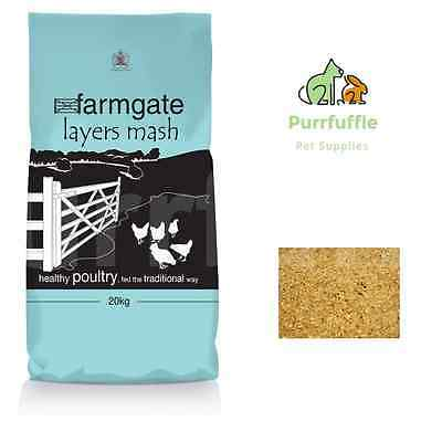 20Kg Bocm Farmgate Layers Mash Poultry Chicken Hen Turkey 16% Protein Food Feed