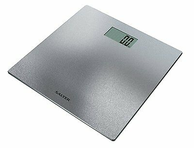 Salter Electronic Digital Bathroom Diet Scale Weight, Silver Glitter