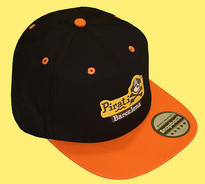 Gorra Snap Pirati Barcelona 5 Paneles Orange. Donsouvenir.