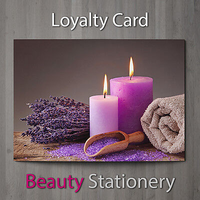 Loyalty Card Beauty Salon Hairdressing Spa Make Up Therapist A8 Mini
