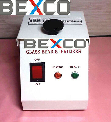Glass Bead Sterilizer (Manufacture) by Top Quality Brand BASCO, DHL Shipping