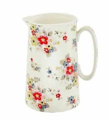 Pretty China Summer Daisy Design Shabby Chic / Country Style Milk Jug Boxed