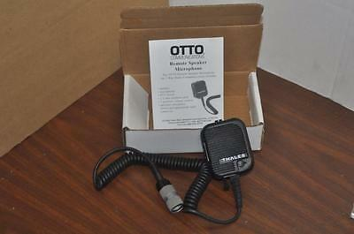 Thales Otto Hand Remote Speaker Microphone US Military 1600469-4 23386 New