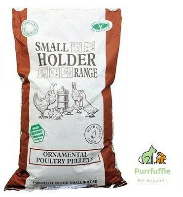 20Kg Allen & Page Ornamental Poultry Food Pellets Game Bird Feed 16% Protein