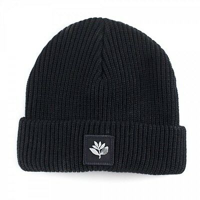 Magenta Skateboards Plant Beanie Hat Black