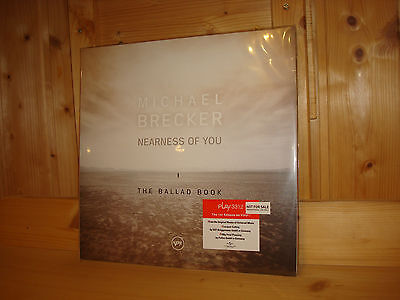 MICHAEL BRECKER Nearness of You The Ballad Book Audiophile VERVE 2x 180g LP NEW