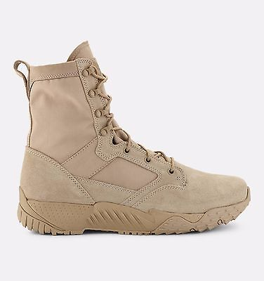 Under Armour Tactical Boots Desert Sand Jungle Rat DWR Leather and Nylon 1264770