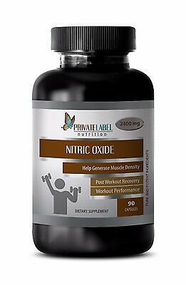Sports Supplements - NITRIC OXIDE 2400mg - Improve Recovery 1B