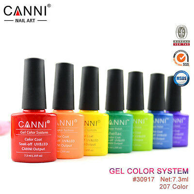 Original Canni Uv Led Nail Gel Polish Varnish Nails Soak Off - Shade 51 - 100
