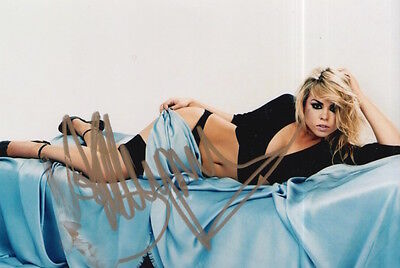 Billie Piper Hand Signed 6X4 Photo Doctor Who, Dr Who 3.