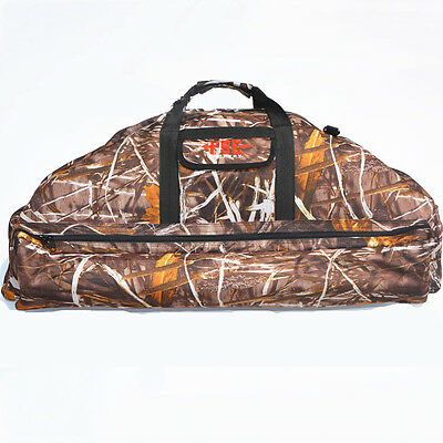 Camouflage Hunting Archery Bow Backpack Bag Compound Bow Crossbow Case Holder