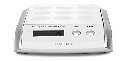 Good Cook Precision Digital Kitchen Scale 11LB Capacity BATTERIES INCLUDED