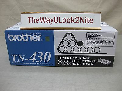 Brother Fax Toner Cartridge TN-430 New Genuine Factory Sealed Box