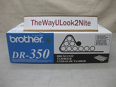Brother Fax Drum Unit DR-350 New Genuine Factory Sealed Box MFC-7420 Fax 2910
