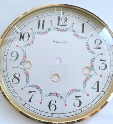 Westminster-Hermle  mantel clock dial bezel combination 160 mm for 340 movement