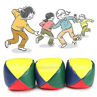 1Pc PU Juggling Ball Bean Bag for Magic Circus Beginner Kids Toy Christmas Gift