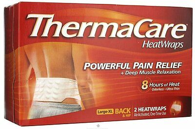 Thermacare 8hr Back Xlarge 2ct