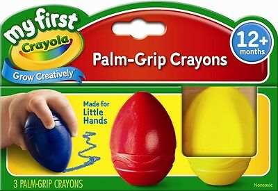 My First 3 pack Palm Grip Crayons from Crayola 81-1345