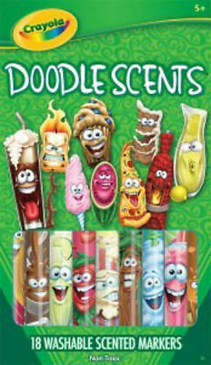 Crayola 18 pack Washable Doodle Scents Markers 58-8248