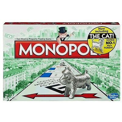 Monopoly Classic Original Family Board Game from Hasbro Gaming 44021