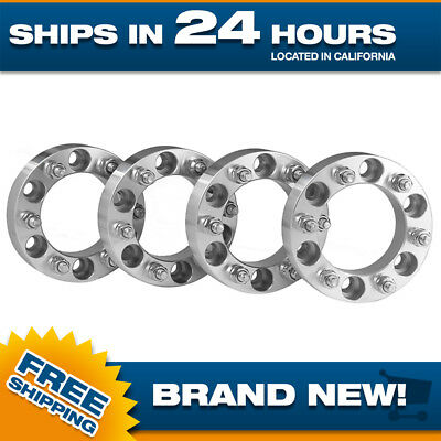 4 pcs Chevy Wheel Spacers Adapters 6x5.5 to 6x120 for Silverado Tahoe Suburban