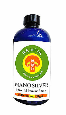 SILVER: COLLOIDAL NANO SILVER High Potency-50 ppm Cayenne OVER 1 MONTH SUPPLY