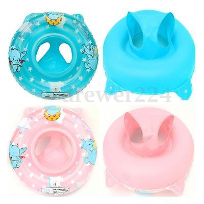 Toddler Baby Handles Inflatable Swimming Ring Seat Safety Aid Float Pool Water