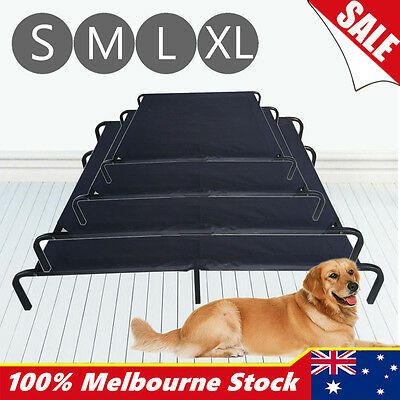 Pet Dog Elevated Bed Trampoline Large Heavy Duty Hammock Canvas Cat Puppy Cover