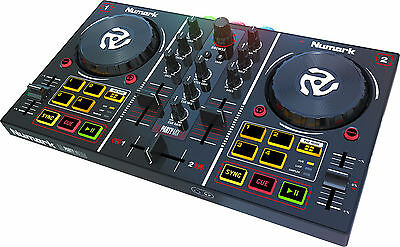NUMARK Party Mix Controller Console Midi USB Virtual DJ con Scheda Audio