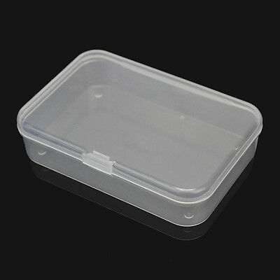 Plastic Storage Box Playing Cards Case Business Card Holder Card Boxes Mini