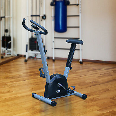 Soozier Belt Drive Exercise Bike Cardio Fitness Cycling Machine W/ LCD Home Gym