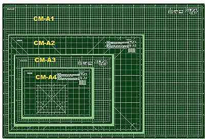 OLFA Cutting Mat Different Sizes. Imperial & Metric Self Healing High Quality