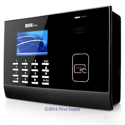 Employee Time Attendance Clock With RFID Badge Reader +Software +TCP/IP +USB